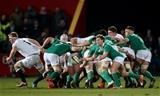A International 30/1/2015 Ireland Wolfhounds vs England Saxons Ireland's Kieran Marmion Mandatory Credit ©INPHO/James Crombie