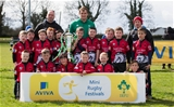 REPRO FREE***PRESS RELEASE NO REPRODUCTION FEE***AVIVA Mini Rugby Festival, Portlaoise RFC, Laois 11/4/2015Claremorris Clots RCMandatory Credit ©INPHO/Ryan Byrne