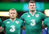 Munster duo Keith Earls and Donnacha Ryan were back in the Ireland team for the first time since the end of the 2013 Six Nations Credit: ©INPHO/Dan Sheridan