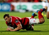 Influential number 8 CJ Stander completes his second half brace of tries for Munster Credit: ©INPHO/Ryan Byrne