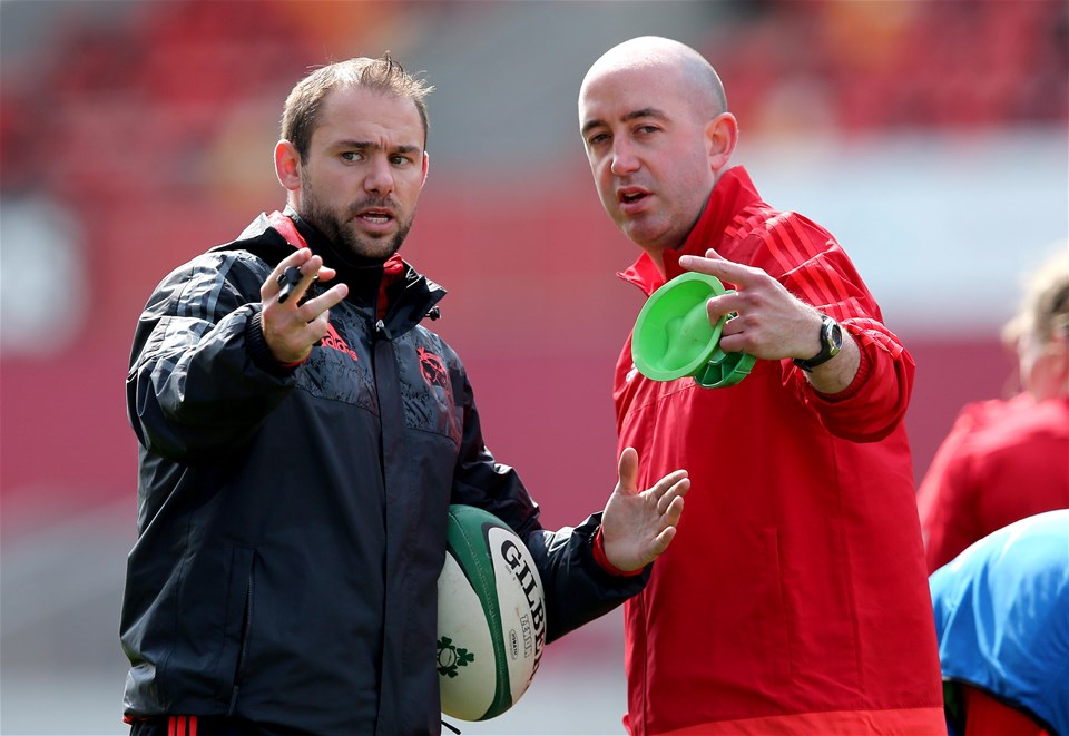Head coach Wayne Falvey was hoping to see his Munster side retain the Interpro title against arch rivals Leinster