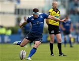 Fergus McFadden fires a conversion attempt towards the posts at the RDS Credit: ©INPHO/Ryan Byrne