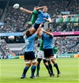 Peter O'Mahony's lineout steal kickstarted the attack that led to Keith Earls' 18th-minute try Credit: ©INPHO/James Crombie