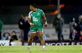 Connacht centre Bundee Aki leaves the pitch after being yellow carded late on Credit: ©INPHO/James Crombie