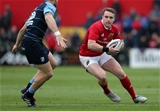 Munster centre Rory Scannell is pictured in possession during the first half Credit: ©INPHO/Ryan Byrne