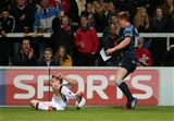 It was Andrew Trimble's first score in this season's GUINNESS PRO12 Credit: ©INPHO/Presseye/Darren Kidd