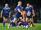 Leinster out-half Ian Madigan gets a clearance kick away during the first half Credit: ©SPORTSFILE/Matt Browne