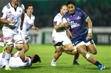 Powerful centre Bundee Aki leads the charge for Connacht during their round 2 clash with Brive Credit: ©INPHO/James Crombie
