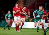Number 8 Robin Copeland makes a break for Munster at the start of the second half Credit: ©INPHO/Dan Sheridan
