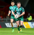 Athlone native Jack Carty was introduced by Connacht in the 45th minute, slotting in for AJ MacGinty at out-half Credit: ©INPHO/James Crombie
