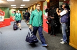 South African-born flanker CJ Stander arrives at the stadium for Ireland's opening Test match of their tour Credit: ©INPHO/Billy Stickland