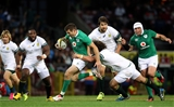 Jared Payne came up from his full-back position to spearhead an attack for Ireland Credit: ©INPHO/Billy Stickland