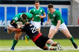 Andrew Porter, picture being tackled by Irakli Tskhadadze, is one of the few returning Irish players who played in last summer's World Rugby U-20 Championship in Italy Credit: ©SPORTSFILE/Matt McNulty