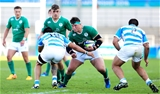 Influential loosehead Andrew Porter makes another carry as Ireland continue to probe for openings against los Pumitas Credit: ©SPORTSFILE/Matt McNulty