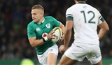 Ian Madigan came off the bench to make his final appearance for Ireland before his summer move to Bordeaux-Begles Credit: ©INPHO/Billy Stickland