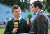 Shane Jennings joined BT Sport regular Brian O'Driscoll as part of the channel's punditry team at the RDS Credit:  ©INPHO/Gary Carr