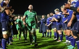 Connacht captain John Muldoon and his team-mates are clapped off the pitch by Leinster Credit: ©INPHO/James Crombie