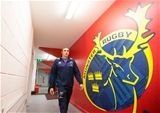 Guinness PRO12, Irish Independent Park, Cork 4/11/2016Munster vs OspreysTommy O'Donnell and the Munster team arrive at Irish Independent ParkMandatory Credit ©INPHO/Cathal Noonan