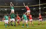 Cork Constitution clubman Billy Holland wins a lineout ball for Ireland during the dying minutes Credit: ©INPHO/Billy Stickland