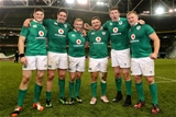 The Munster contingent in Ireland's matchday squad - Jack O'Donoghue, Billy Holland, Keith Earls, Dave Kilcoyne, Donnacha Ryan and John Ryan Credit: ©INPHO/Billy Stickland