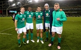 There were four tries, two assists and a man-of-the-match award shared out by Connacht's Kieran Marmion, Niyi Adeolokun, Tiernan O'Halloran, Ultan Dillane and Finlay Bealham Credit: ©INPHO/James Crombie