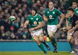 Sean O'Brien made his second Test appearance in a row for Ireland as he continues to bounce back from last February's hamstring injury against France Credit: ©INPHO/Billy Stickland