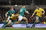 Guinness Series, Aviva Stadium, Dublin 26/11/2016Ireland vs Australia Irelands Simon Zebo is tackled by Dean Mumm of AustraliaMandatory Credit ©INPHO/Colm ONeill