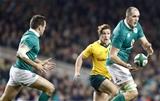 Guinness Series, Aviva Stadium, Dublin 26/11/2016Ireland vs Australia Irelands Devin Toner passes to Jared PayneMandatory Credit ©INPHO/Colm ONeill