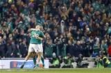 Guinness Series, Aviva Stadium, Dublin 26/11/2016Ireland vs Australia Ireland's Simon Zebo and Keith Earls celebrate at the final whistleMandatory Credit ©INPHO/Colm ONeill