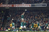 Guinness Series, Aviva Stadium, Dublin 26/11/2016Ireland vs Australia Irelands Josh Van der Flier wins a lineout late in the gameMandatory Credit ©INPHO/Colm ONeill