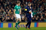 Guinness Series, Aviva Stadium, Dublin 26/11/2016Ireland vs Australia Ireland's Andrew Trimble leaves the field injured with physio James AllenMandatory Credit ©INPHO/James Crombie