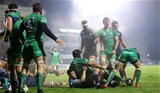 A barnstorming five-metre scrum from Connacht allowed scrum half John Cooney to pounce for the opening try Credit: ©INPHO/James Crombie