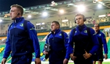 Leinster's Dan Leavy, Tadhg Furlong, Garry Ringrose and Devin Toner arrive for the round 3 clash with Northampton Credit: ©INPHO/James Crombie
