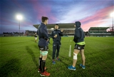 European Rugby Champions Round 4, Sportsground, Galway 17/12/2016Connacht vs WaspsConnacht's Quinn Roux, Tiernan O'Halloran and John MuldoonMandatory Credit ©INPHO/Morgan Treacy