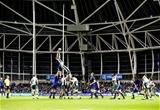 European Rugby Champions Round 4, Aviva Stadium, Dublin 17/12/2016Leinster vs Northampton SaintsA general view of LeinsterÕs Josh Van der Flier claiming a line-outMandatory Credit ©INPHO/Ken Sutton