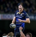 European Rugby Champions Round 4, Aviva Stadium, Dublin 17/12/2016Leinster vs Northampton SaintsLeinsters Devin Toner wins a lineoutMandatory Credit ©INPHO/Gary Carr
