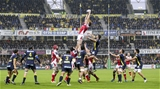 Sunday 18th December 2016 | ASM CLERMONT AUVERGNE vs ULSTER RUGBYIain Henderson takes this lineout ball during the European Rugby Champions Cup Pool 5 Round 4 clash between ASM Clermont Auvergne and Ulster Rugby at the Stade Marcel-Michelin, Clermont, France. Photo by John Dickson/Dicksondigital