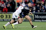 Guinness PRO12, Kingspan Stadium, Belfast 23/12/2016Ulster vs ConnachtUlster's Luke Marshall with Rory Parata of ConnachtMandatory Credit ©INPHO/Morgan Treacy