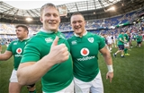 2017 Summer Tour, Red Bull Arena, New Jersey, USA 10/6/2017USA vs IrelandIreland's John Ryan and Andrew Porter after the game Mandatory Credit ©INPHO/Ryan Byrne