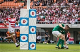 2017 Summer Tour 2nd Test, Ajinomoto Stadium, Chofu, Tokyo, Japan 17/6/2017Japan vs IrelandIreland's Jack Conan scores the fifth try of the game Mandatory Credit ©INPHO/Ryan Byrne