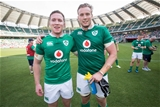 2017 Summer Tour 2nd Test, Ajinomoto Stadium, Chofu, Tokyo, Japan 17/6/2017Japan vs IrelandIreland's Rory OLoughlin and Kieran Treadwell after the game Mandatory Credit ©INPHO/Ryan Byrne