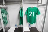 2017 Summer Tour 3rd Test, Ajinomoto Stadium, Chofu, Tokyo 24/6/2017Japan vs IrelandA view of John Cooney's jersey Mandatory Credit ©INPHO/Ryan Byrne