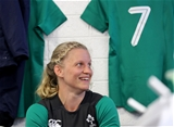 Ireland's 2017 World Cup captain Claire Molloy was looking forward to leading her country for the first time in a 15s international