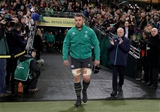 Guinness Series, Aviva Stadium, Dublin 11/11/2017 Ireland vs South AfricaIreland's Sean O'Brien makes his way out for his 50th cap Mandatory Credit ©INPHO/Dan Sheridan