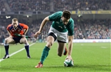 Guinness Series, Aviva Stadium, Dublin 18/11/2017 Ireland vs FijiIrelands Darren Sweetnam scores his sides first tryMandatory Credit ©INPHO/Ryan Byrne