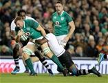 Guinness Series, Aviva Stadium, Dublin 18/11/2017 Ireland vs FijiIrelands Jordi Murphy tackled by Kini Murimurivalu of FijiMandatory Credit ©INPHO/Dan Sheridan