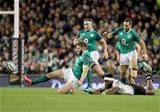 Guinness Series, Aviva Stadium, Dublin 18/11/2017 Ireland vs FijiIrelands Stuart McCloskey with Levani Botia of FijiMandatory Credit ©INPHO/Dan Sheridan