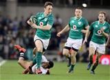 Guinness Series, Aviva Stadium, Dublin 18/11/2017 Ireland vs FijiIrelands Darren Sweetnam with Henry Seniloli of FijiMandatory Credit ©INPHO/Dan Sheridan