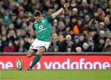 Guinness Series, Aviva Stadium, Dublin 18/11/2017 Ireland vs FijiIrelands Ian Keatley kicks a penaltyMandatory Credit ©INPHO/Dan Sheridan