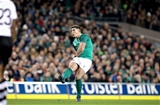 Guinness Series, Aviva Stadium, Dublin 18/11/2017 Ireland vs FijiIreland's Ian Keatley kicks the winning penalty Mandatory Credit ©INPHO/Ryan Byrne